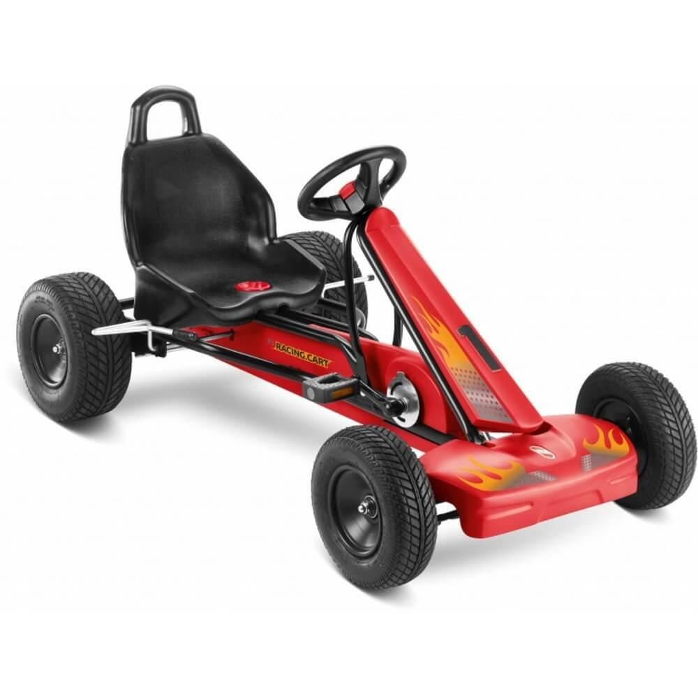 Puky Go-Cart F1L Schwarz - Rot